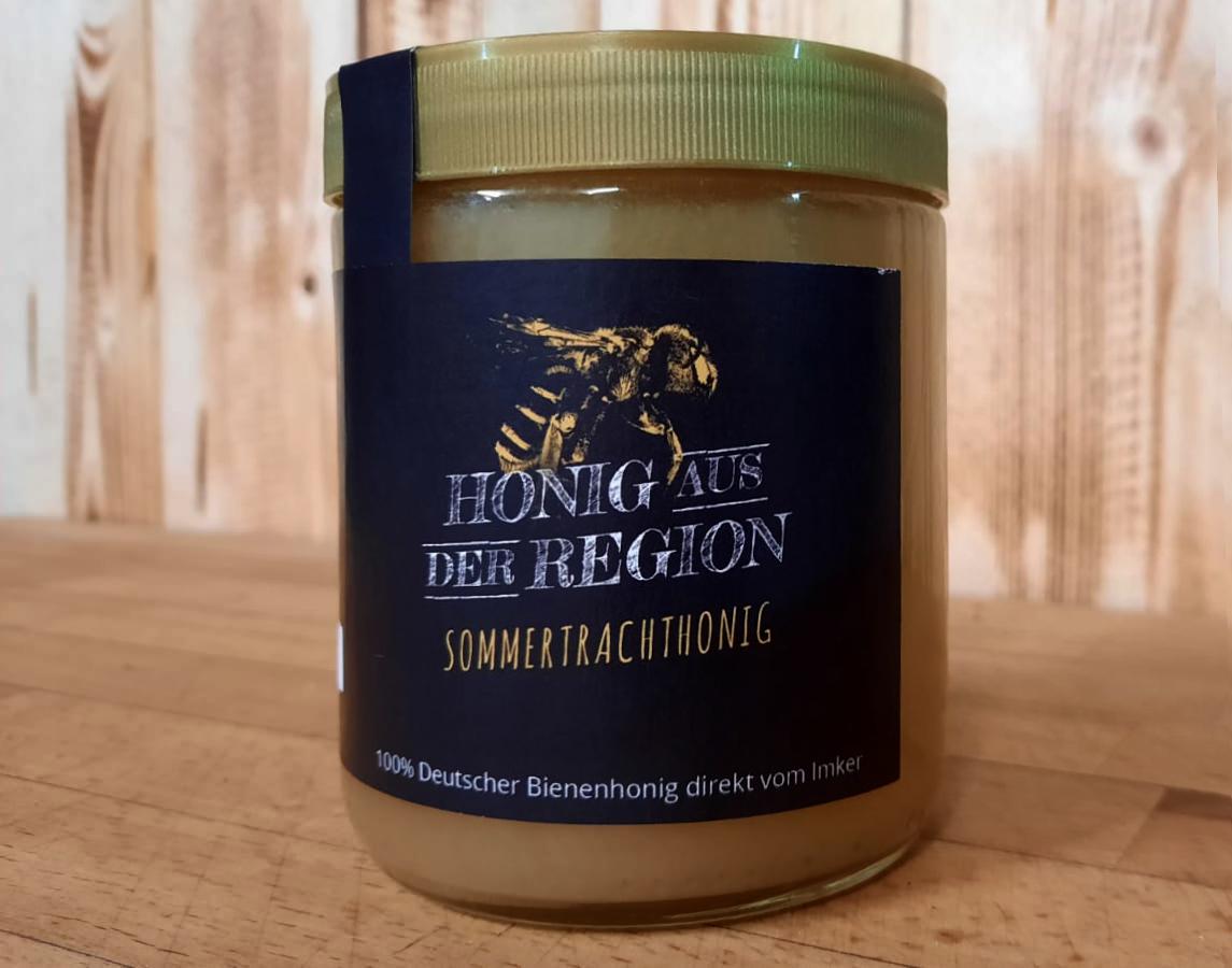Deutscher Honig  Cremig gerührt